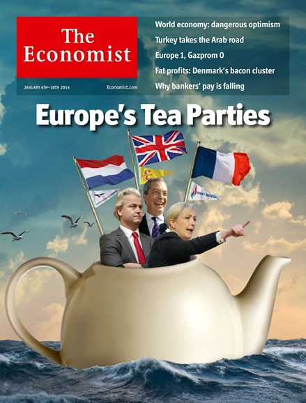 The Economist Cover - 1/4/2014