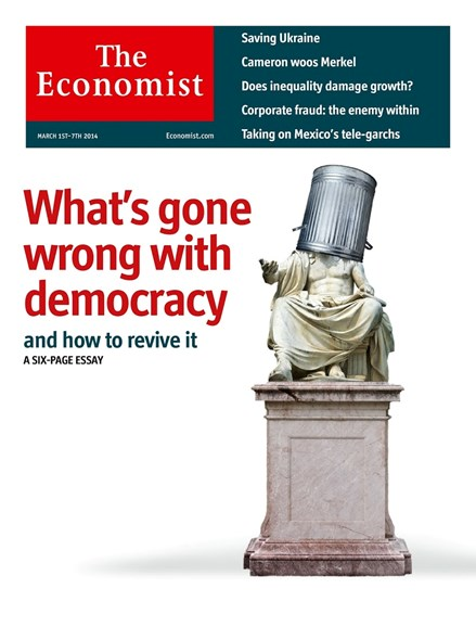 The Economist Cover - 3/1/2014