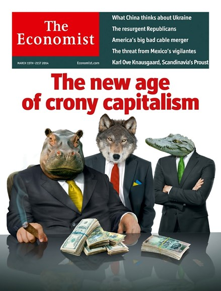 The Economist Cover - 3/15/2014