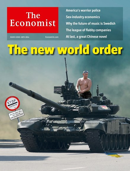 The Economist Cover - 3/22/2014