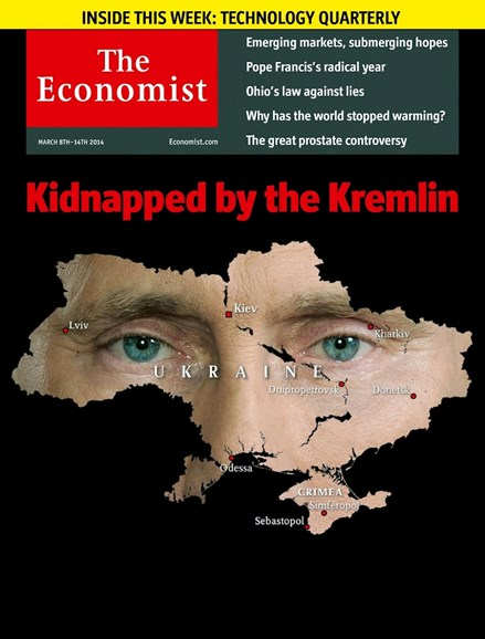 The Economist Cover - 3/8/2014