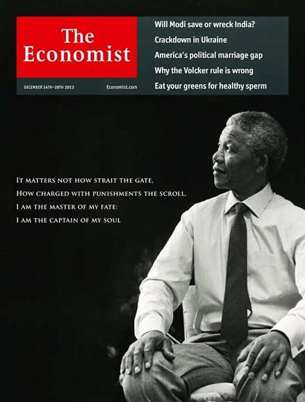 The Economist Cover - 12/14/2013