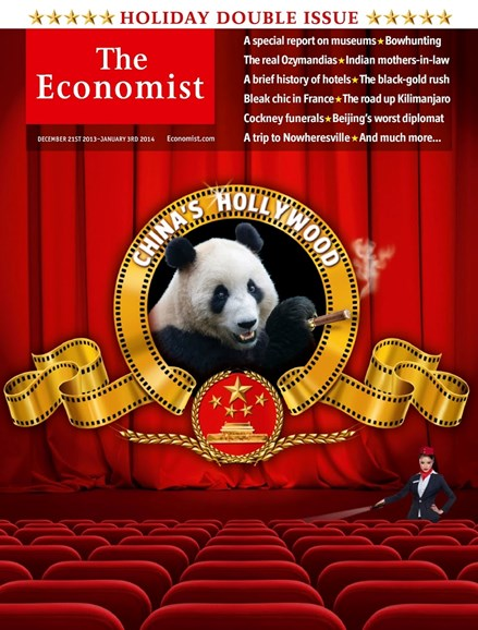 The Economist Cover - 12/21/2013