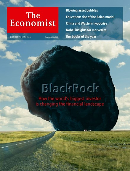 The Economist Cover - 12/7/2013