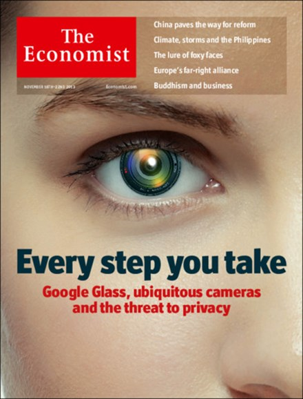 The Economist Cover - 11/16/2013
