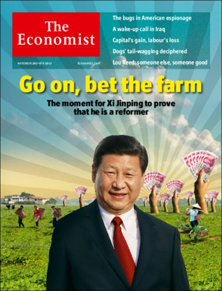 The Economist Cover - 11/2/2013