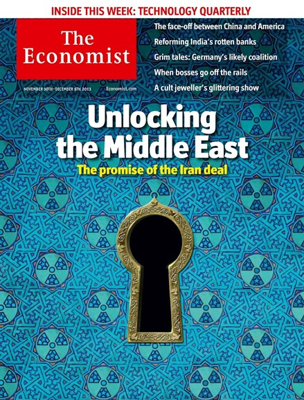 The Economist Cover - 11/30/2013