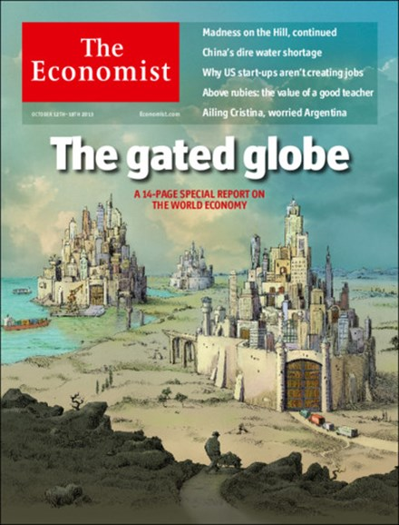 The Economist Cover - 10/12/2013