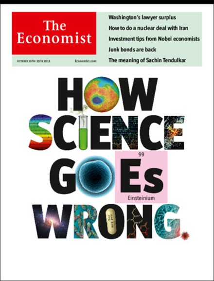 The Economist Cover - 10/19/2013
