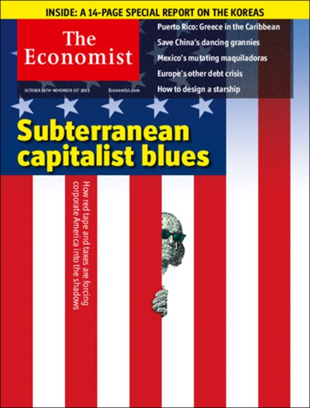 The Economist Cover - 10/26/2013