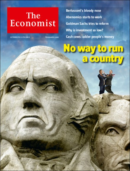 The Economist Cover - 10/5/2013
