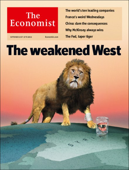 The Economist Cover - 9/21/2013