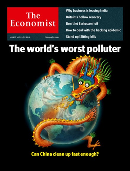 The Economist Cover - 8/10/2013