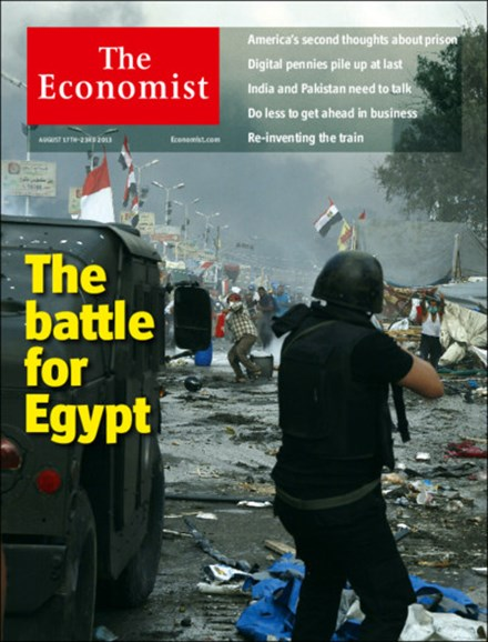 The Economist Cover - 8/17/2013