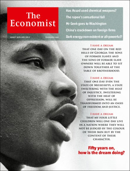 The Economist Cover - 8/24/2013