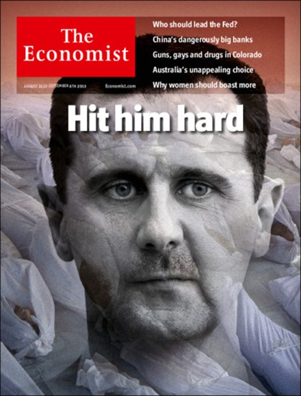 The Economist Cover - 8/31/2013