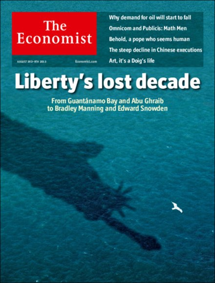 The Economist Cover - 8/3/2013