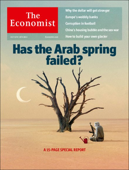 The Economist Cover - 7/13/2013