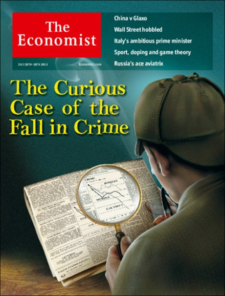 The Economist Cover - 7/20/2013