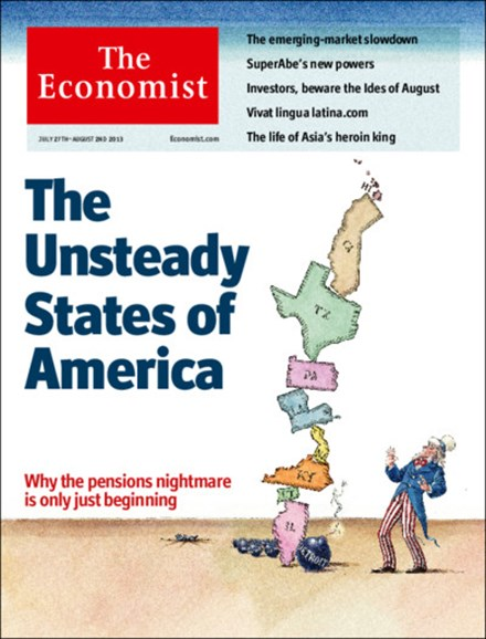 The Economist Cover - 7/27/2013