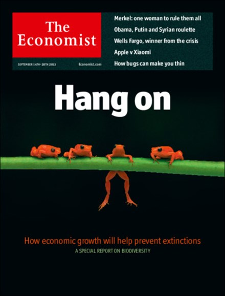 The Economist Cover - 9/14/2013