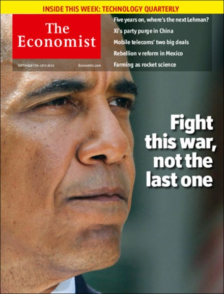 The Economist Cover - 9/7/2013