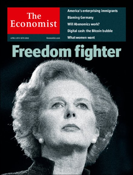 The Economist Cover - 4/13/2013