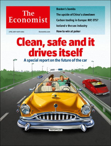 The Economist Cover - 4/20/2013
