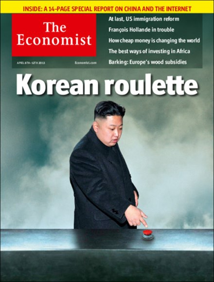 The Economist Cover - 4/6/2013