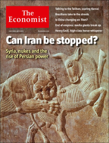 The Economist Cover - 6/22/2013