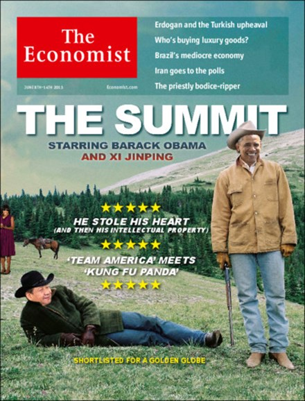 The Economist Cover - 6/8/2013
