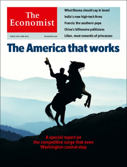 The Economist Cover - 3/16/2013