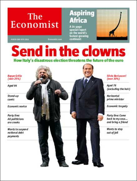 The Economist Cover - 3/2/2013