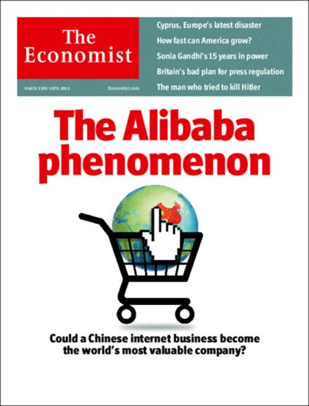 The Economist Cover - 3/23/2013
