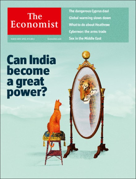 The Economist Cover - 3/30/2013
