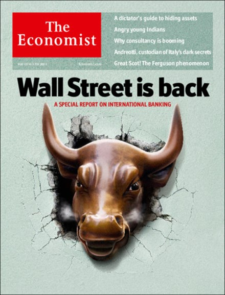 The Economist Cover - 5/11/2013