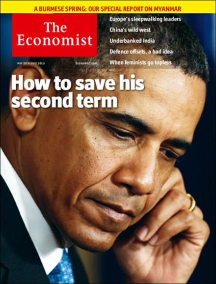 The Economist Cover - 5/25/2013