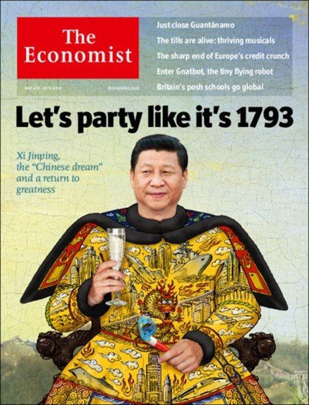 The Economist Cover - 5/4/2013
