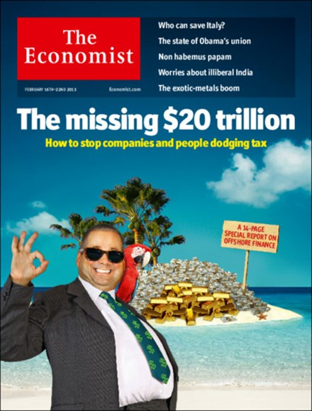 The Economist Cover - 2/16/2013