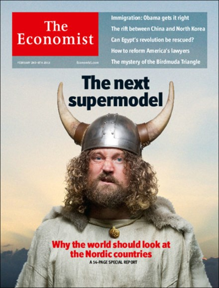 The Economist Cover - 2/2/2013