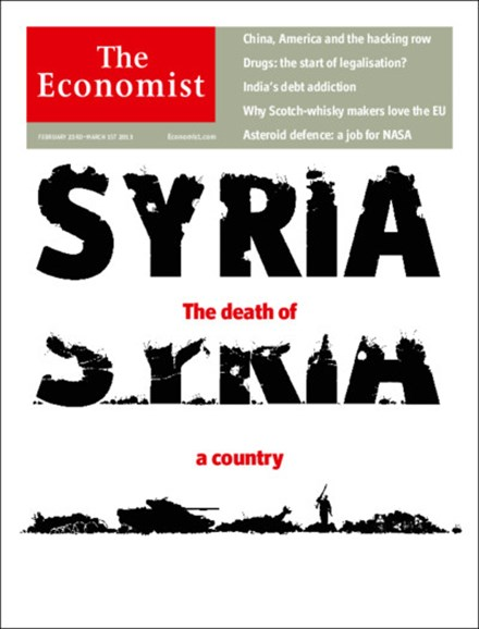 The Economist Cover - 2/23/2013