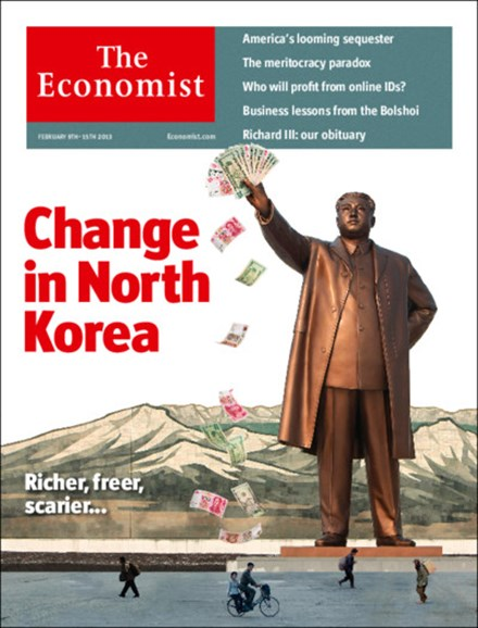 The Economist Cover - 2/9/2013