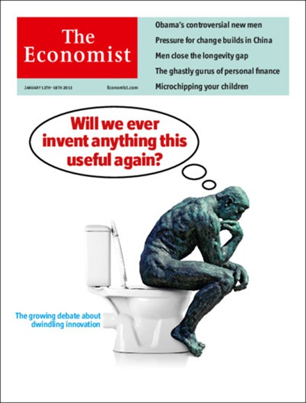 The Economist Cover - 1/12/2013