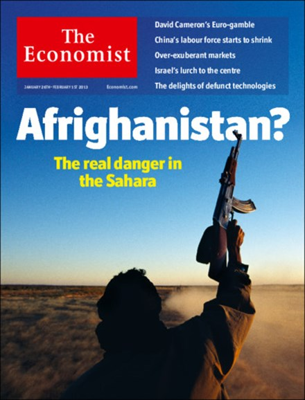 The Economist Cover - 1/26/2013