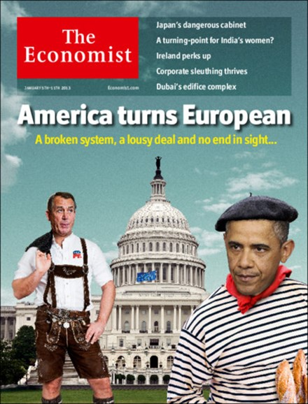 The Economist Cover - 1/5/2013