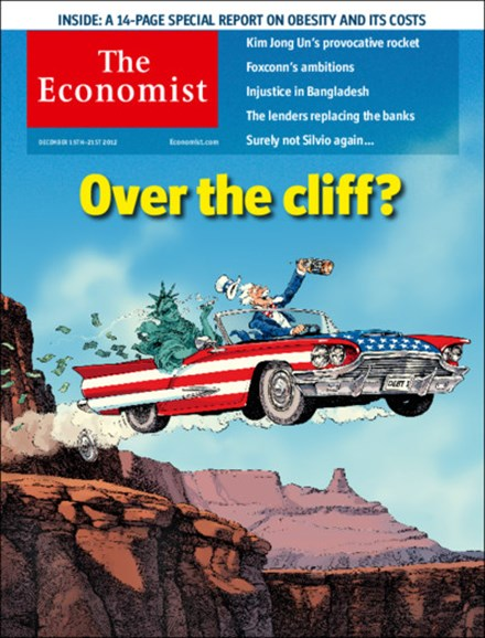 The Economist Cover - 12/15/2012