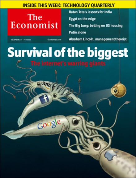 The Economist Cover - 12/1/2012