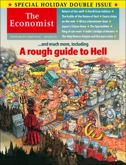 The Economist Cover - 12/22/2012
