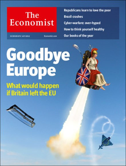 The Economist Cover - 12/8/2012