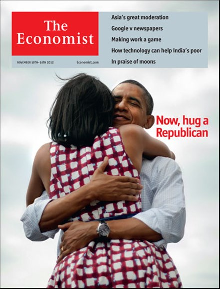 The Economist Cover - 11/10/2012